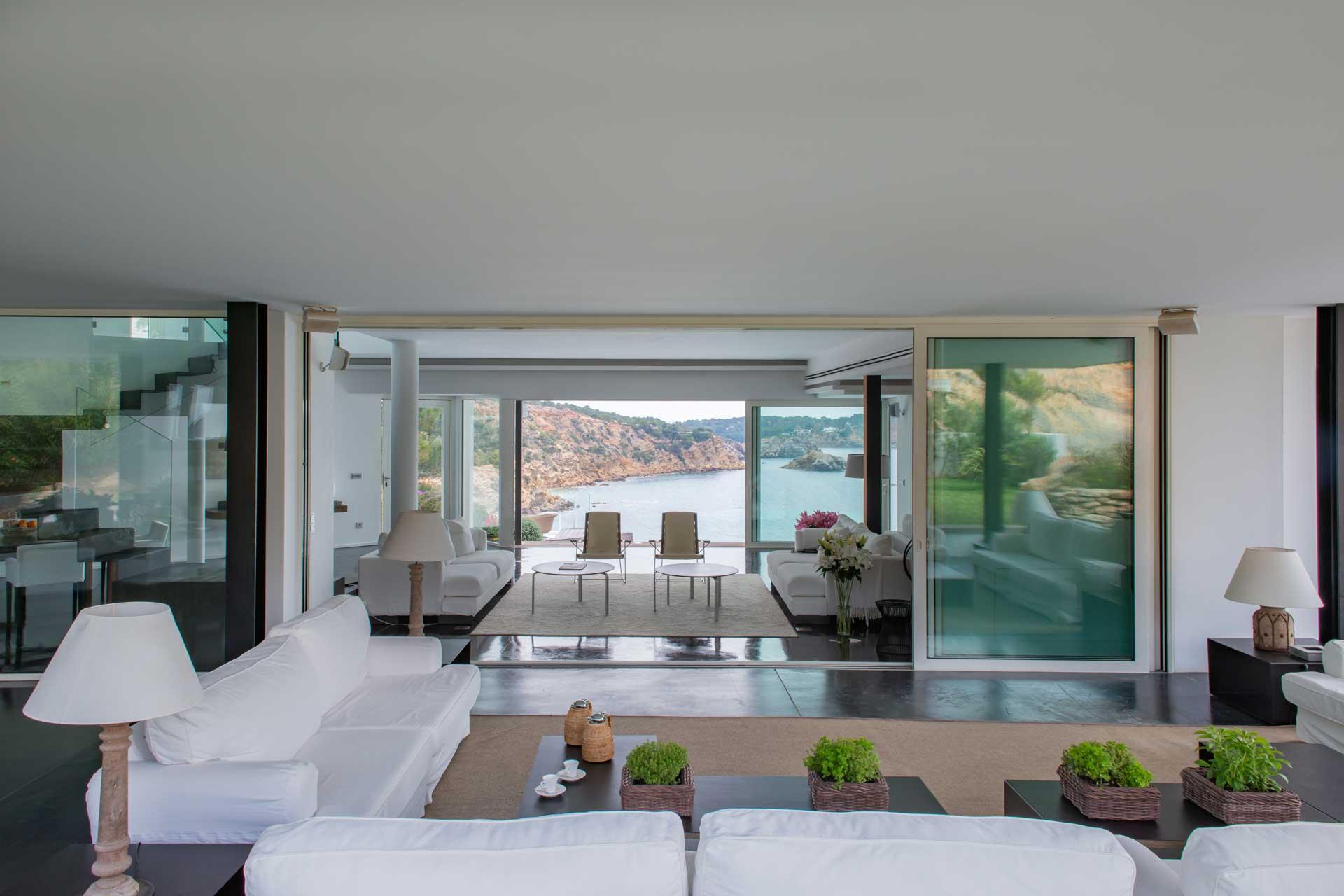 Villa Infinty Ibiza Vista Alegre - Gartenterrasse