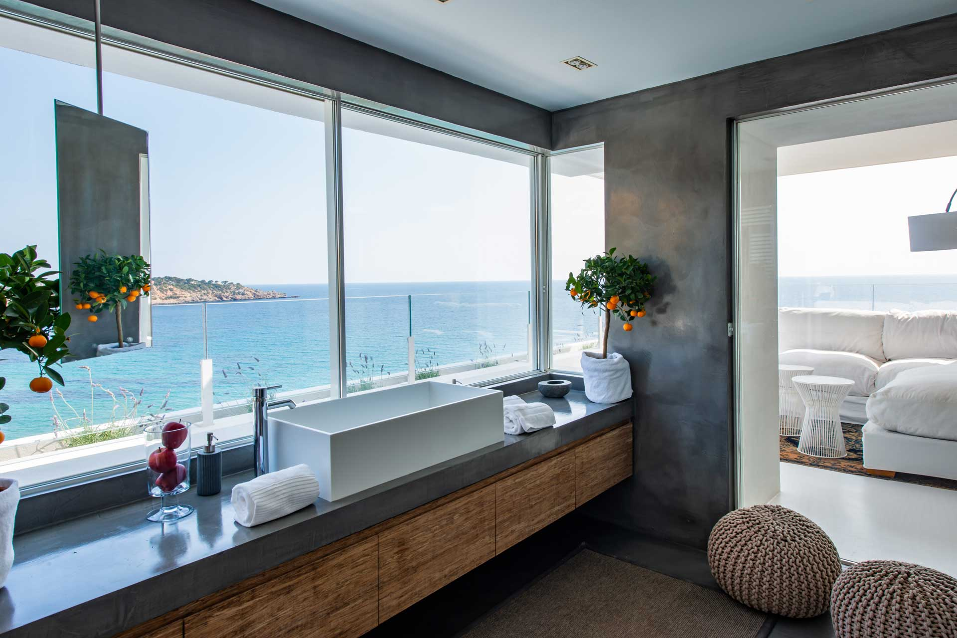 Villa Infinty Ibiza Vista Alegre - Master-Suite with en-suite bathroom