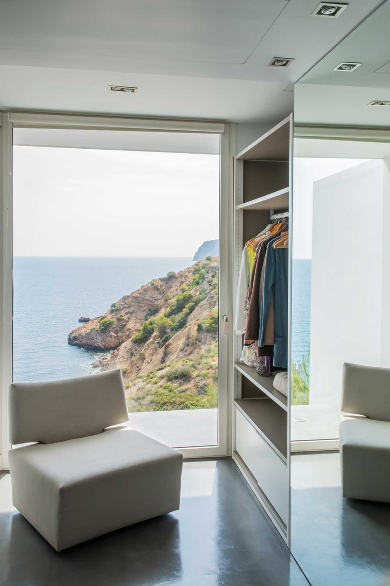 Villa Infinty Ibiza Vista Alegre - Master-Suite with dressing room