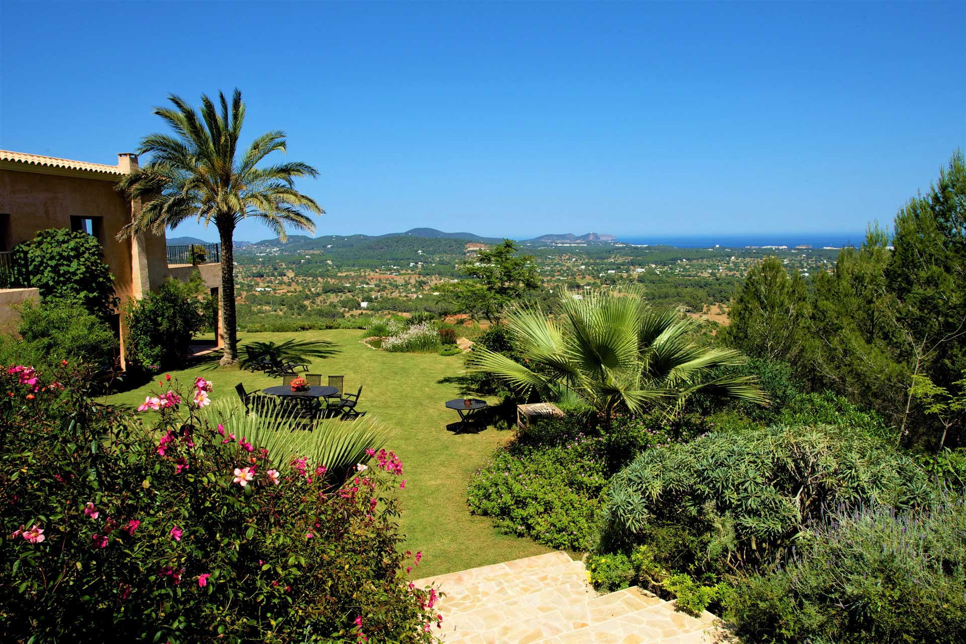Villa K IBIZA - Garten