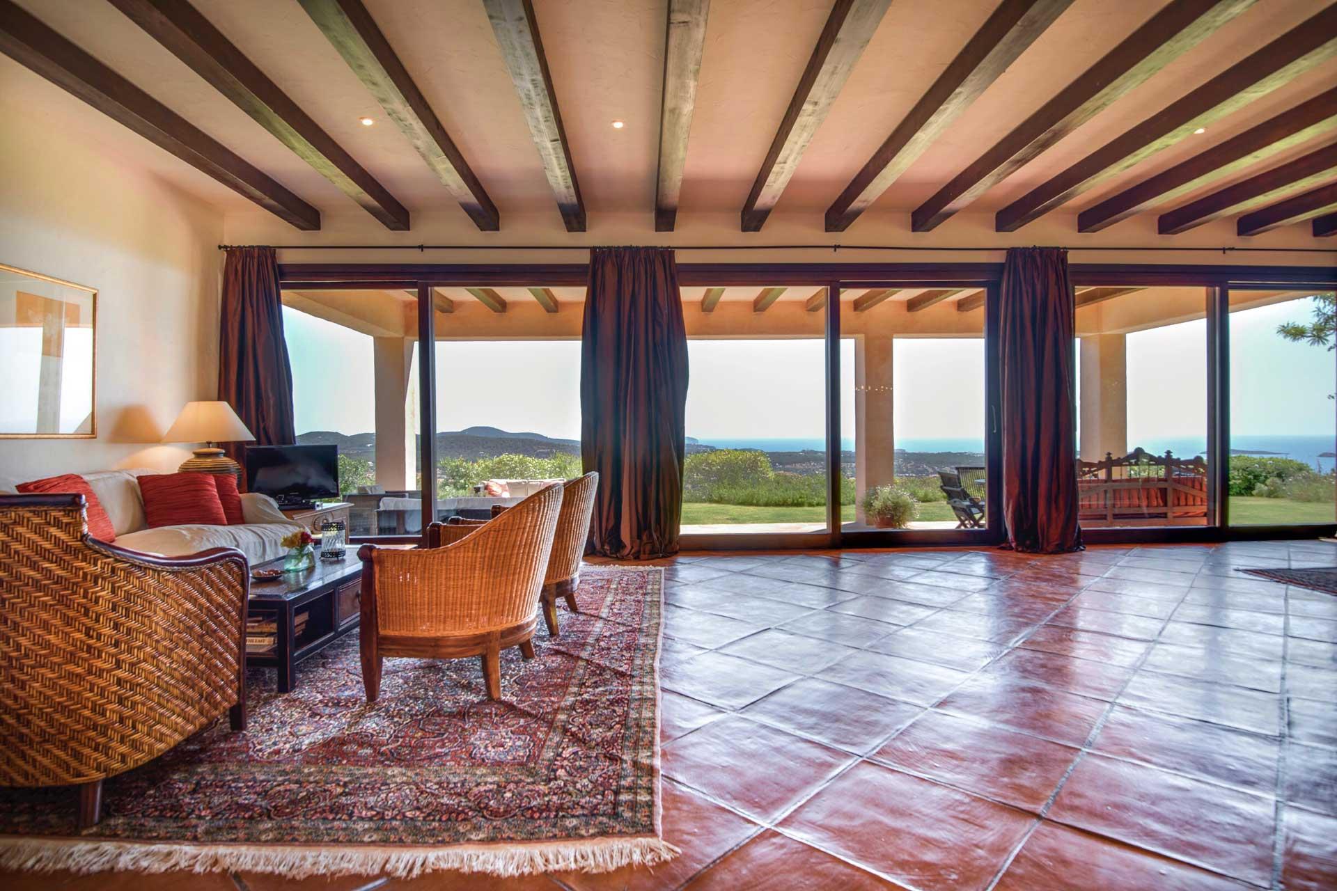 Villa K IBIZA - Wohnbereich