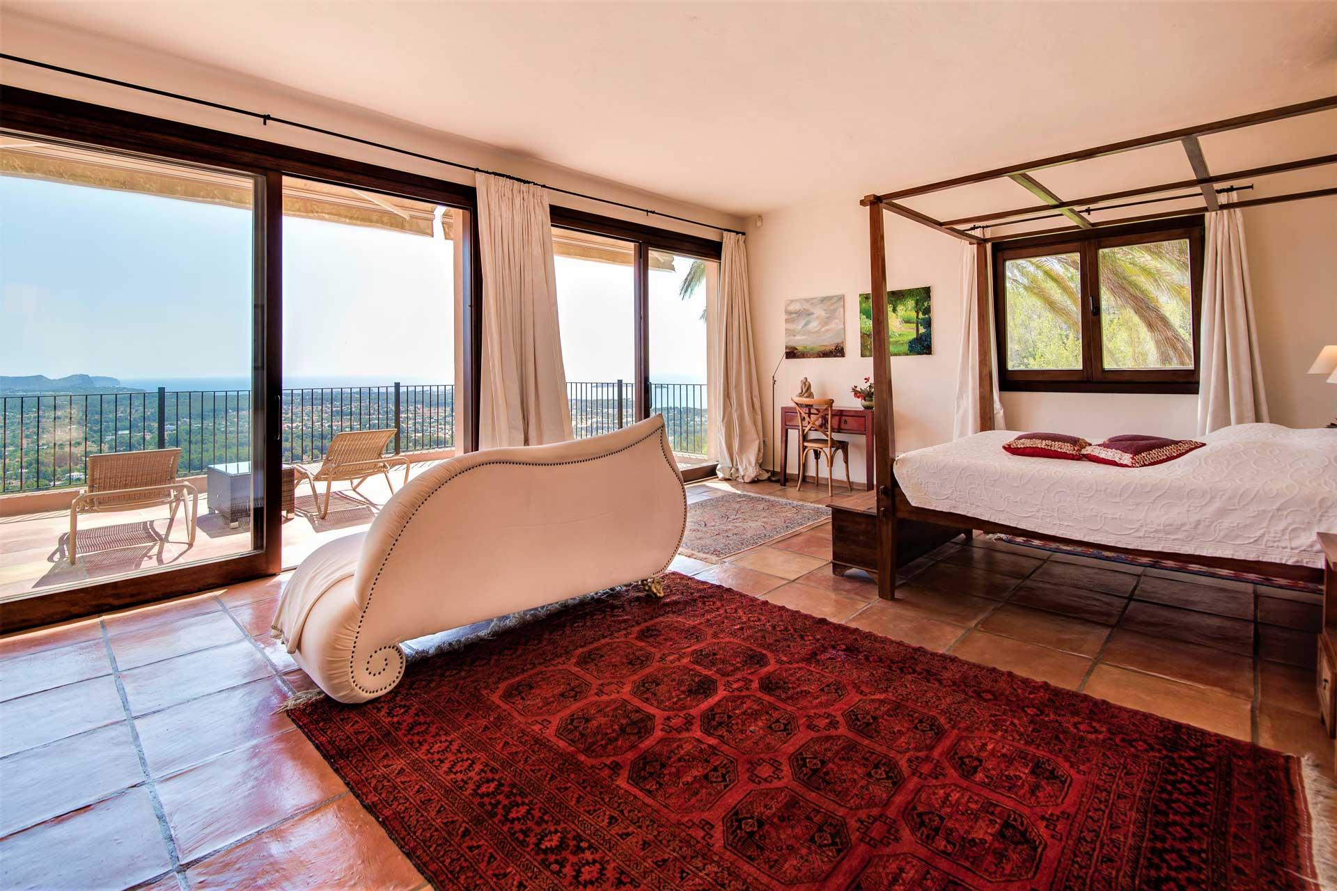 Villa K IBIZA - Master-Suite OG mittig mit Bad en Suite
