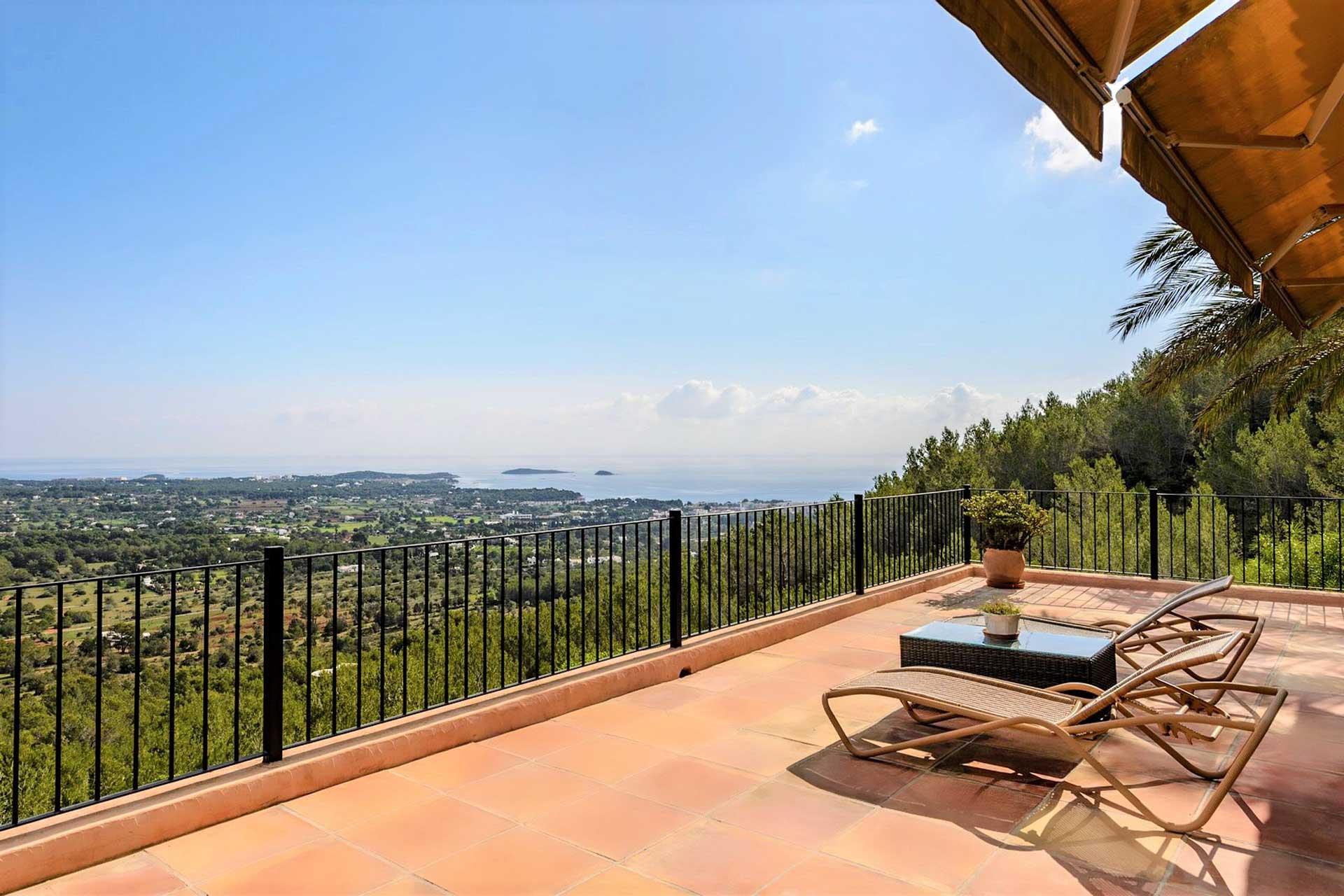 Villa K IBIZA - Master-Suite OG mit privater Terrasse