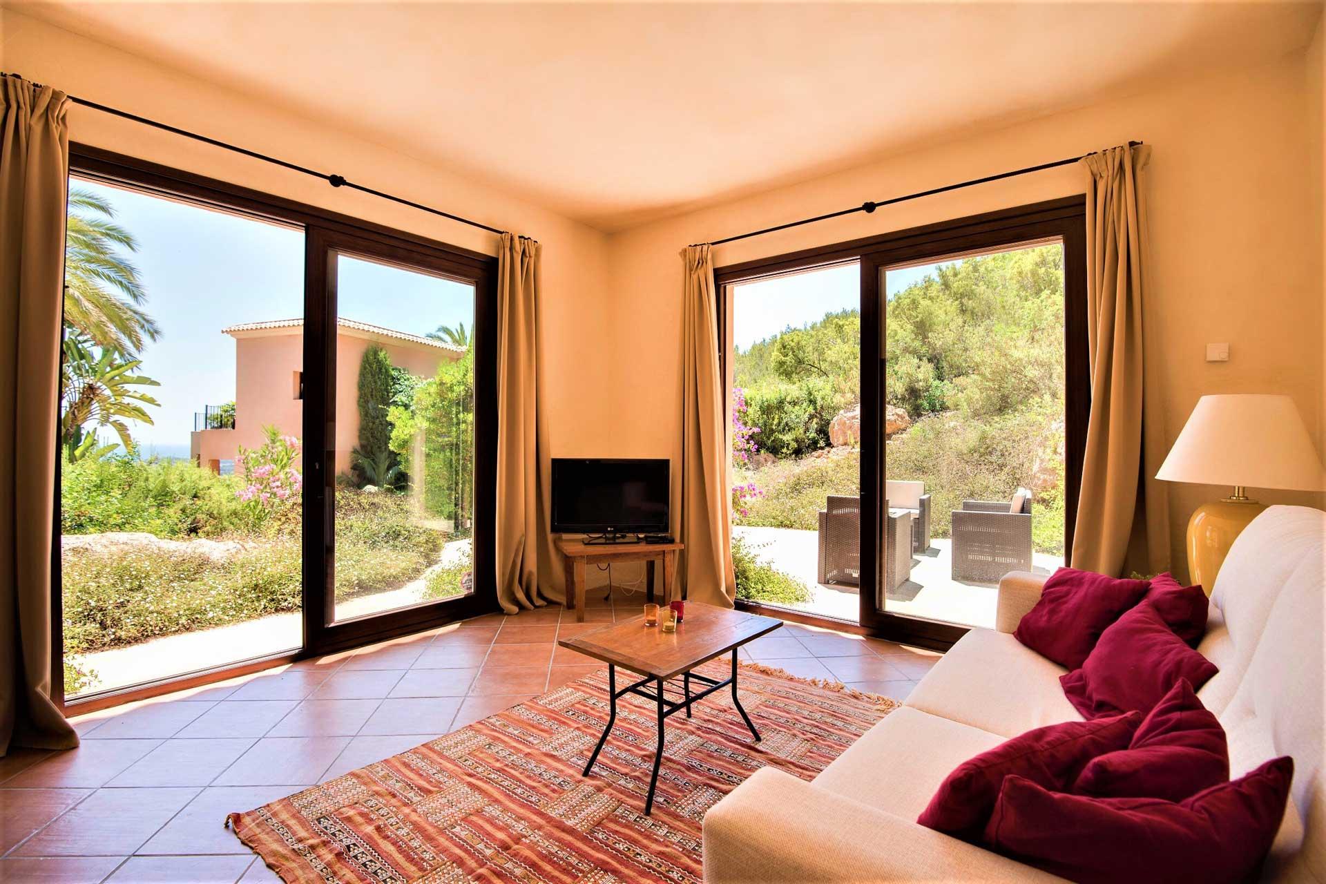 Villa K IBIZA - Gästehaus Wohnbereich