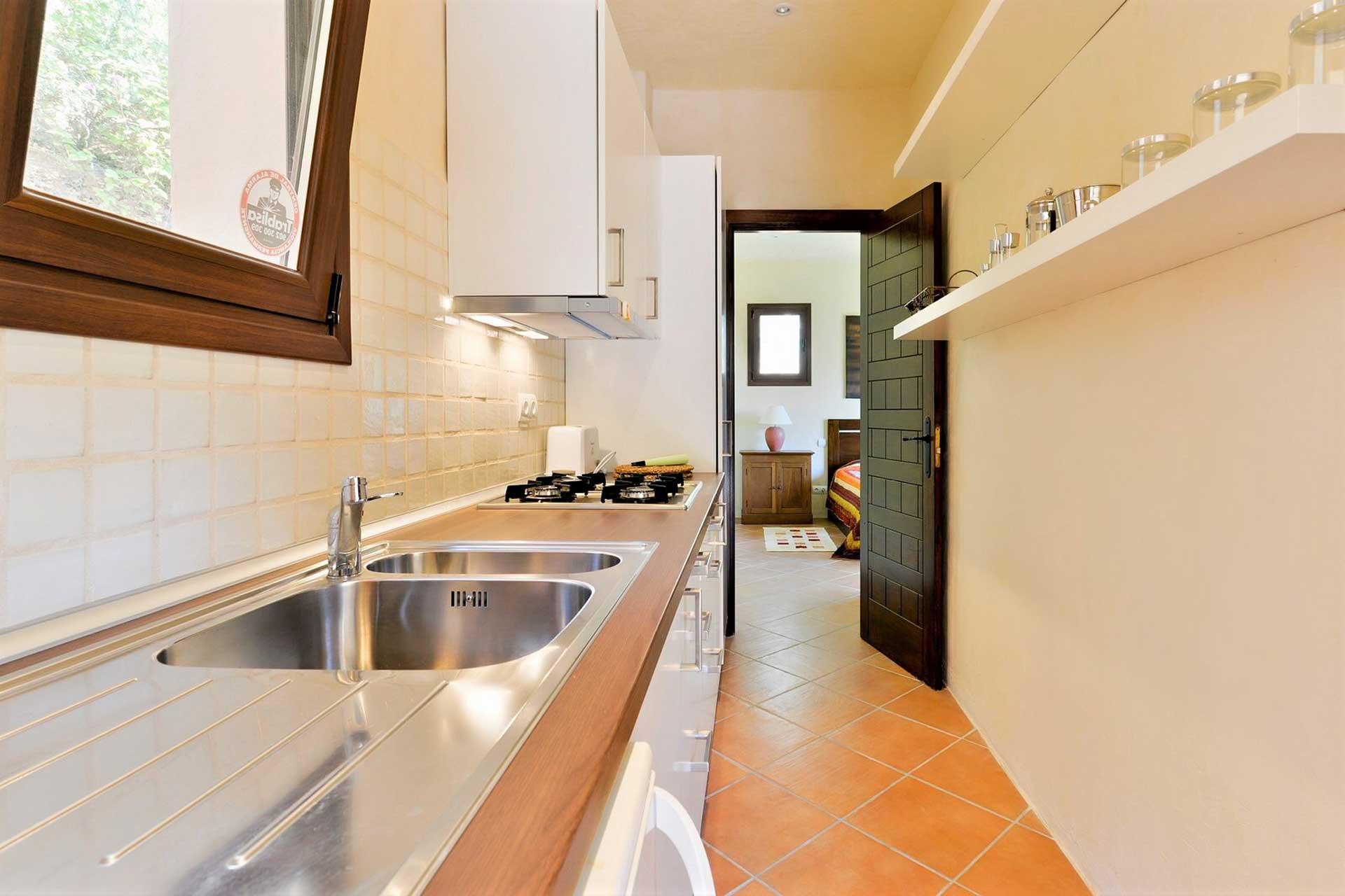 Villa K IBIZA - Gästehaus Küche