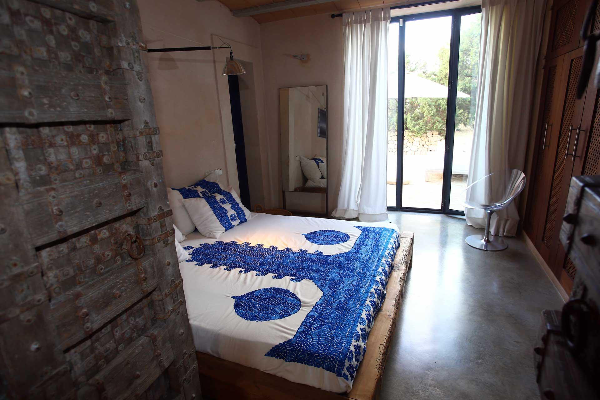 Villa Can Teresita - Schlafzimmer EG re.