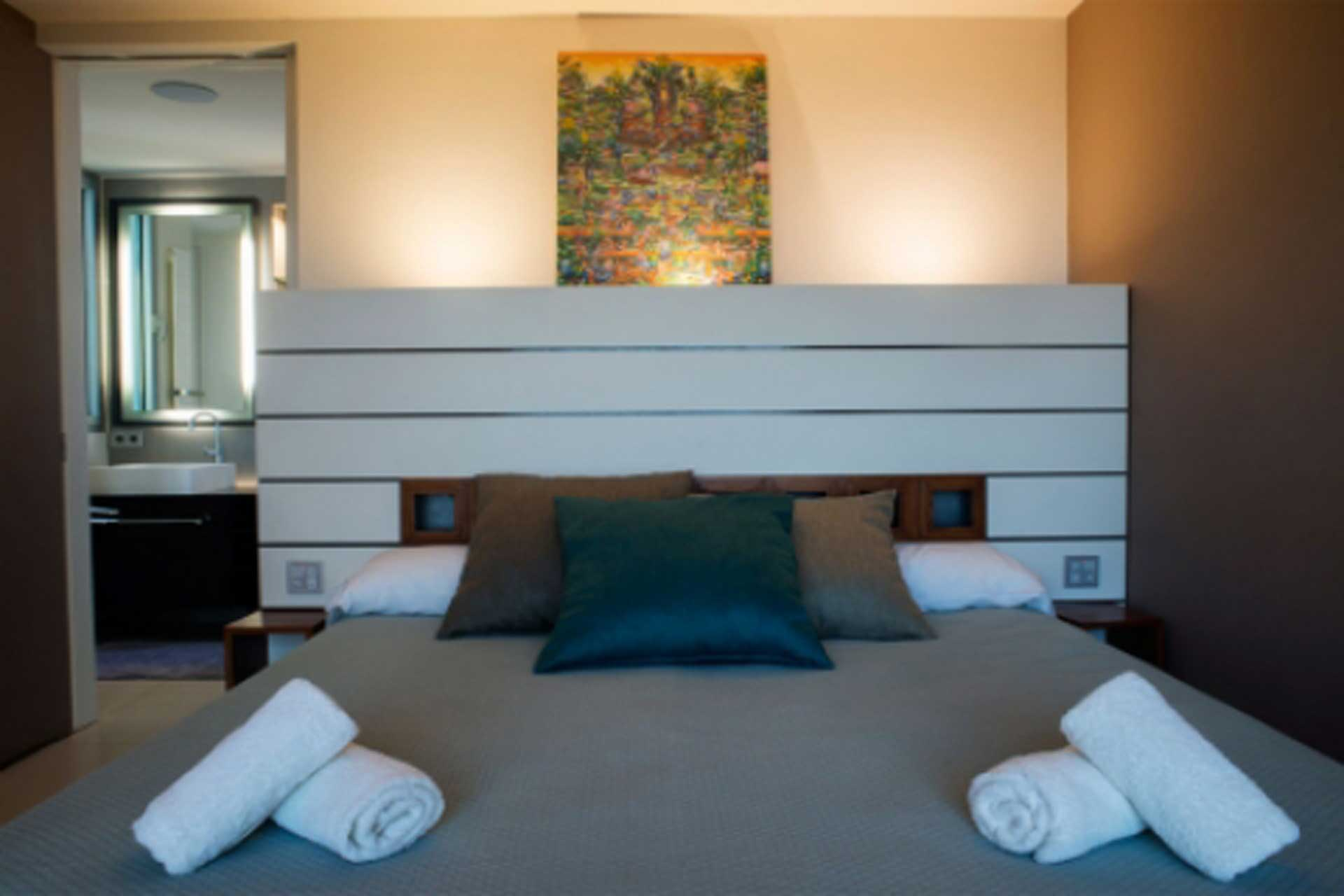 Can T. Ibiza - Bedroom guest house