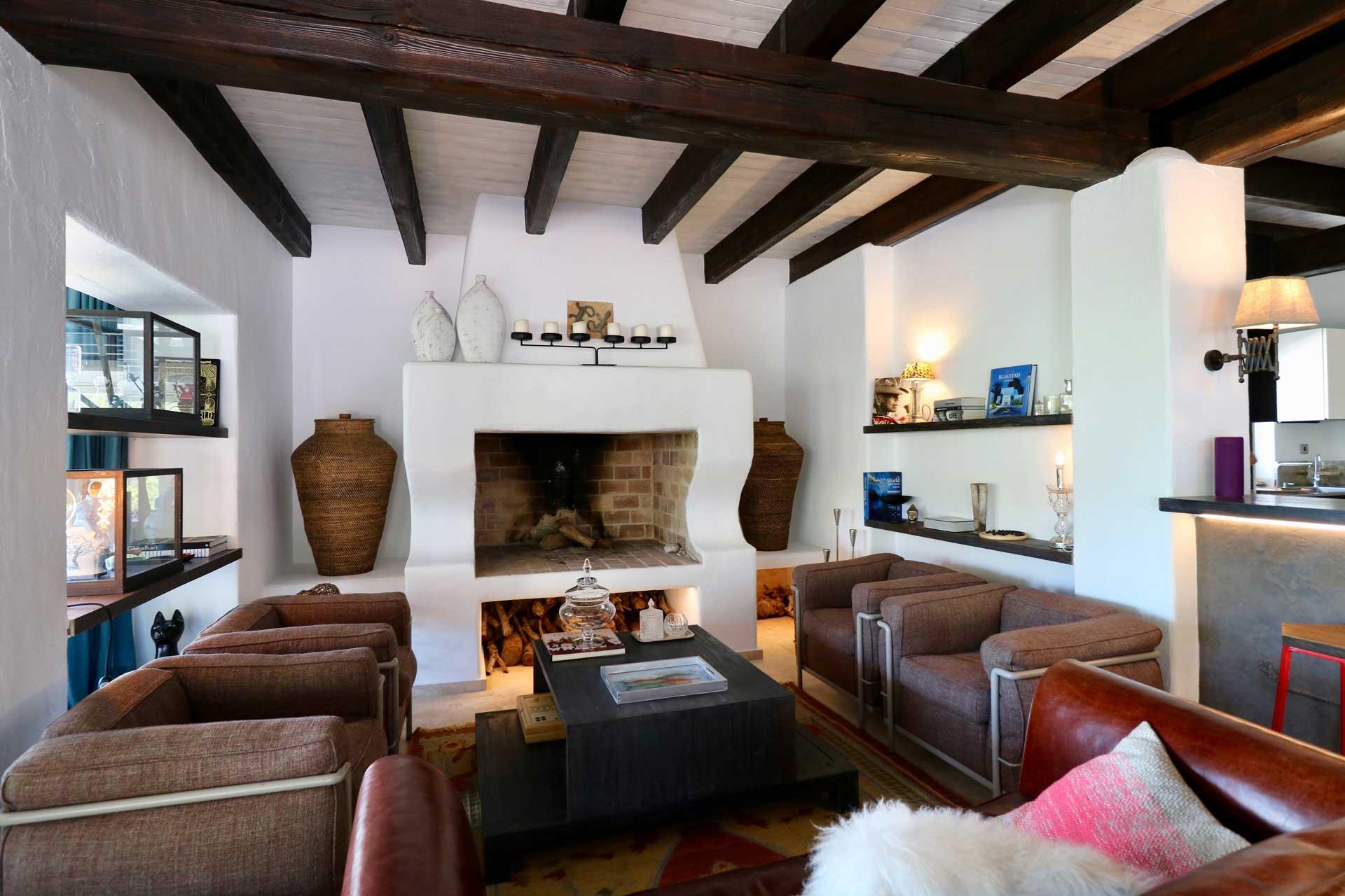 Villa Can Gecko AV Ibiza - Wohnbereich