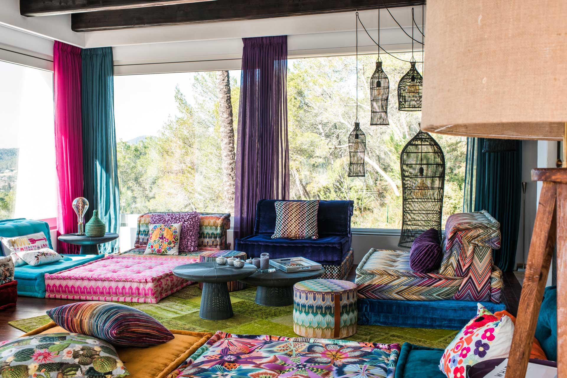 Villa Can Gecko AV Ibiza - Chillout-Bereich