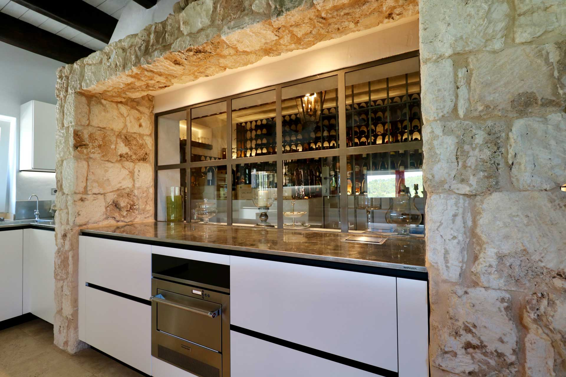 Villa Can Gecko AV Ibiza - Kitchen