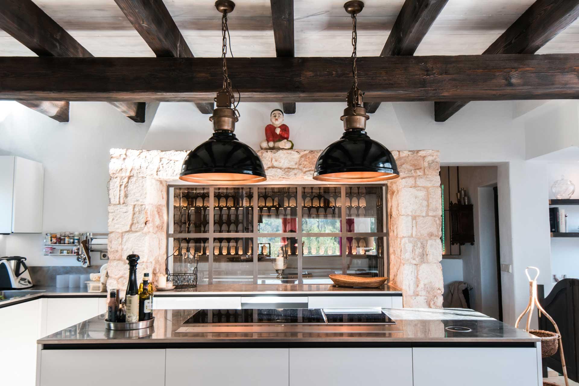 Villa Can Gecko AV Ibiza - Küche