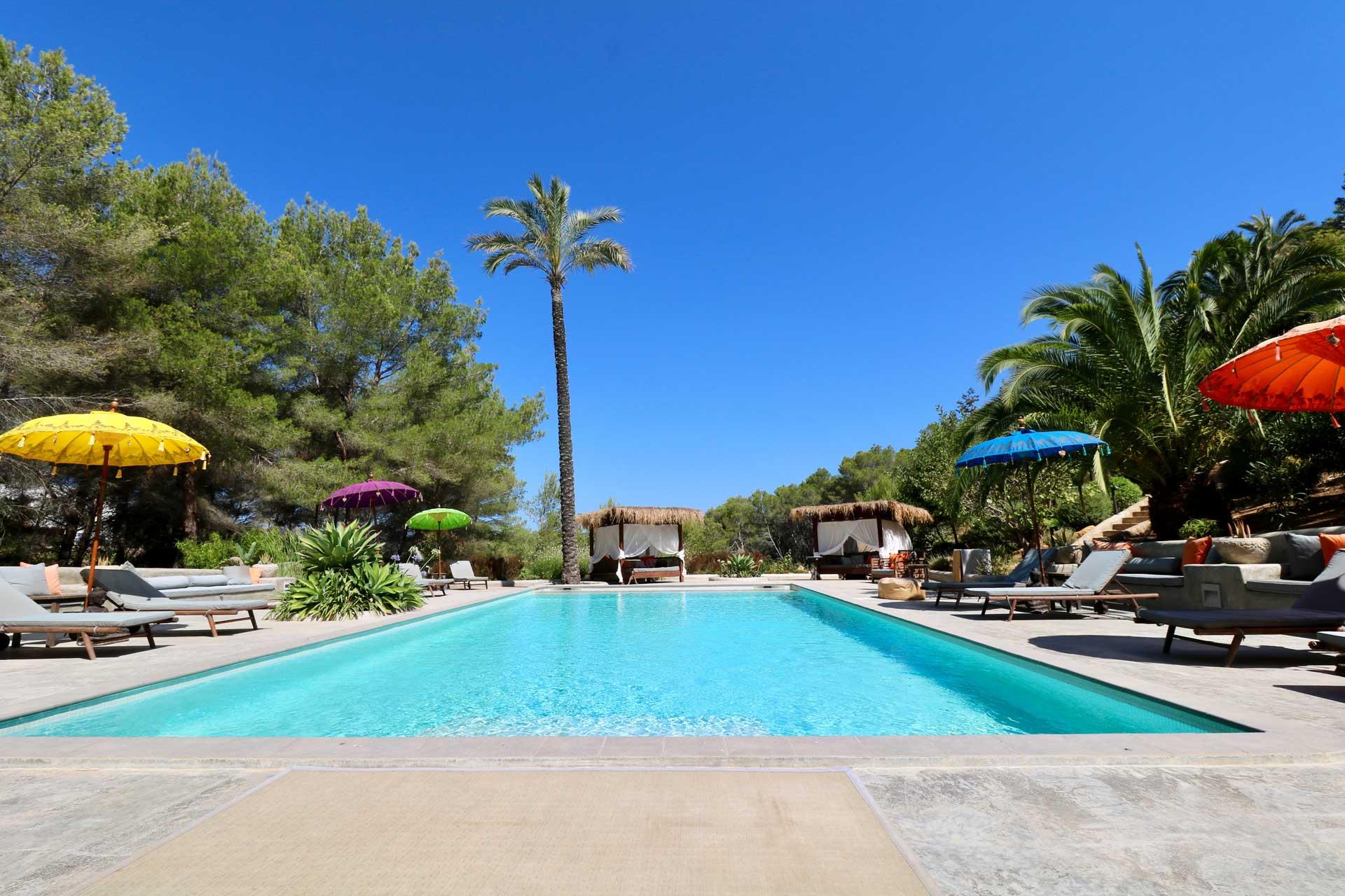 Villa Can Gecko AV Ibiza - Swimmingpool-Bereich
