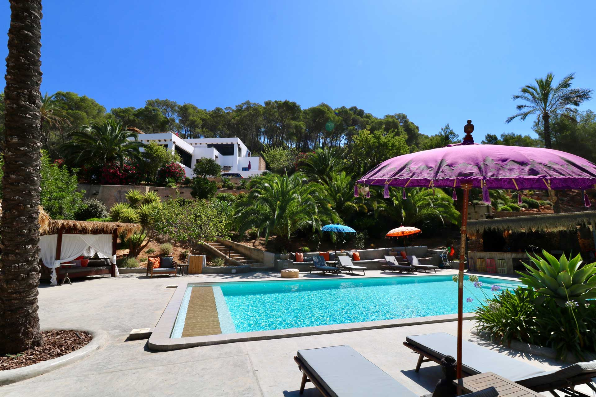 Villa Can Gecko AV Ibiza - Swimming pool area