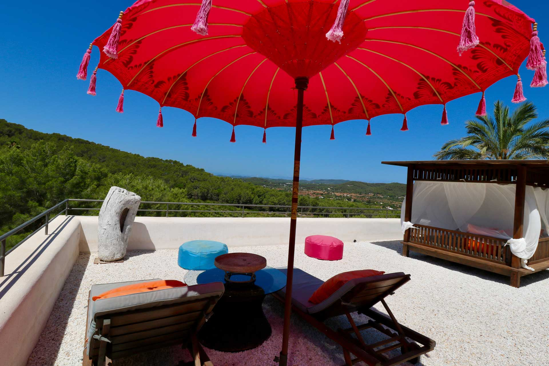 Villa Can Gecko AV Ibiza - Roof terrace