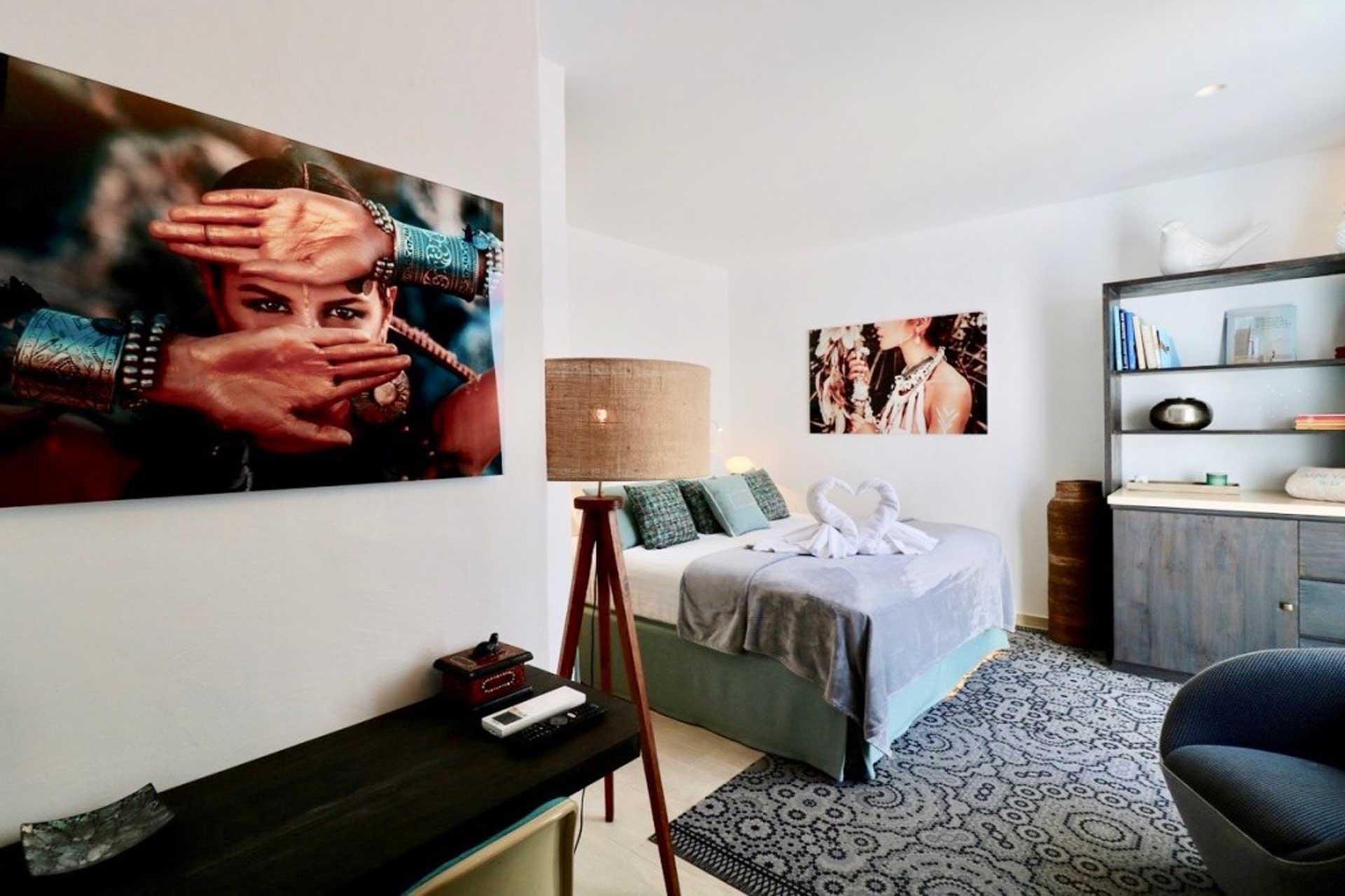 Villa Can Gecko AV Ibiza - Schlafzimmer O2