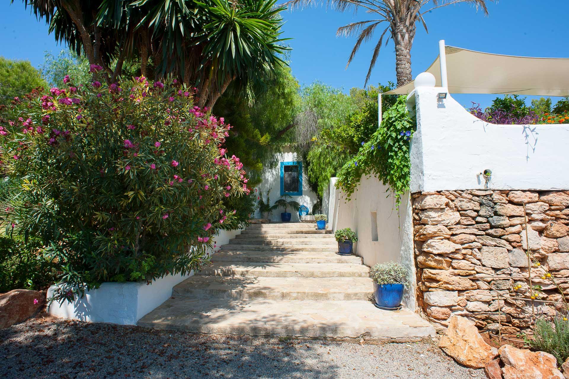 Finca Can Gall Ibiza - Entrance