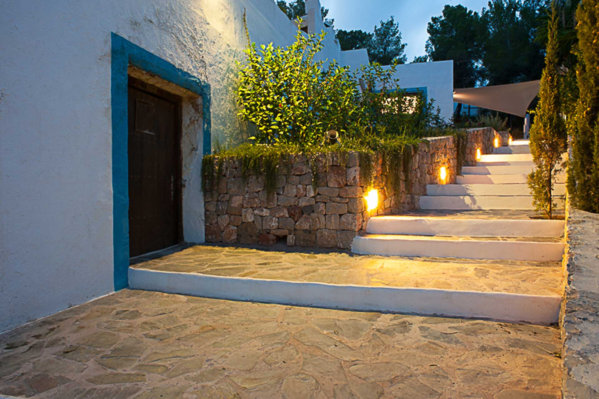 Finca Can Gall Ibiza - Stairway