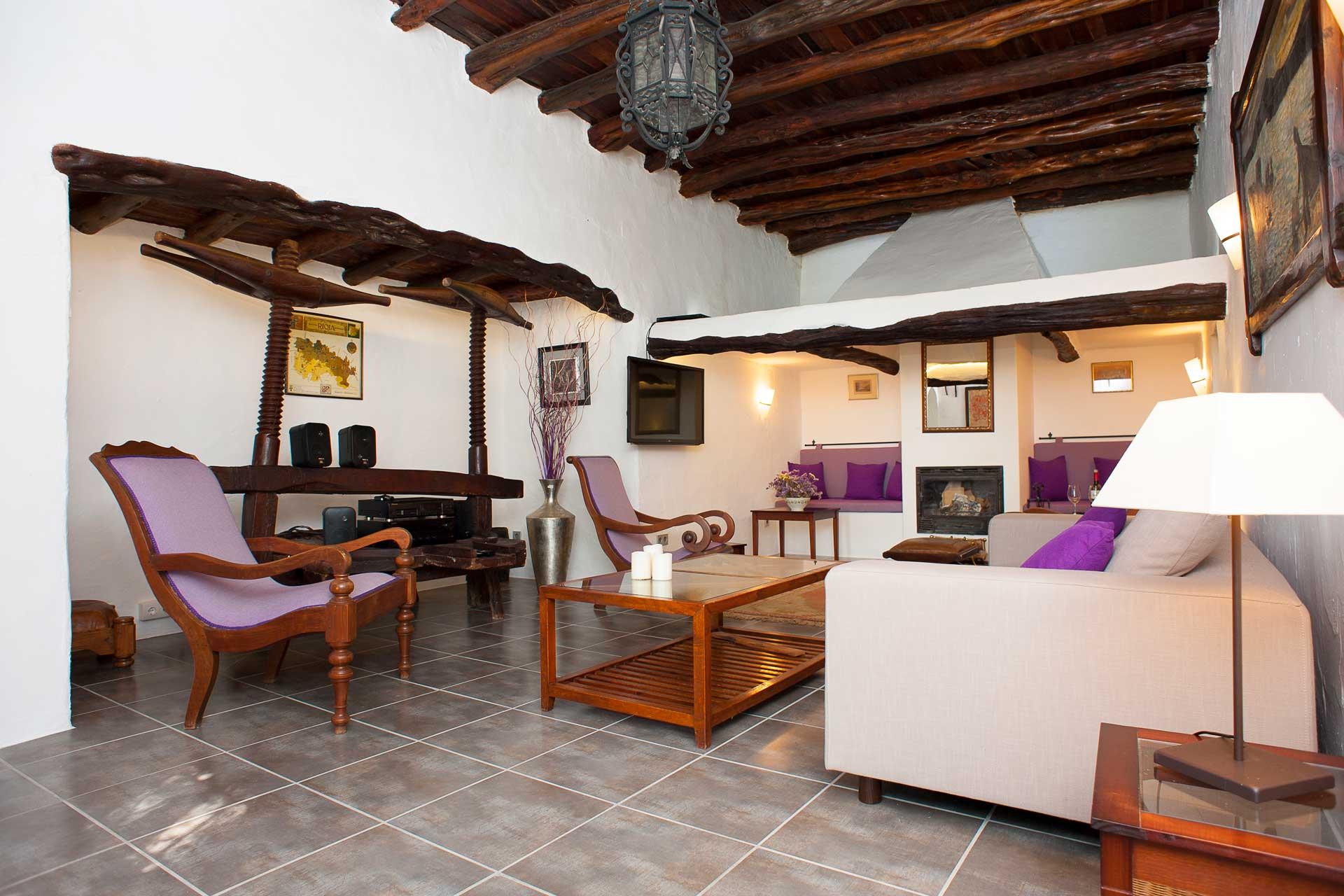 Finca Can Gall Ibiza - Salon