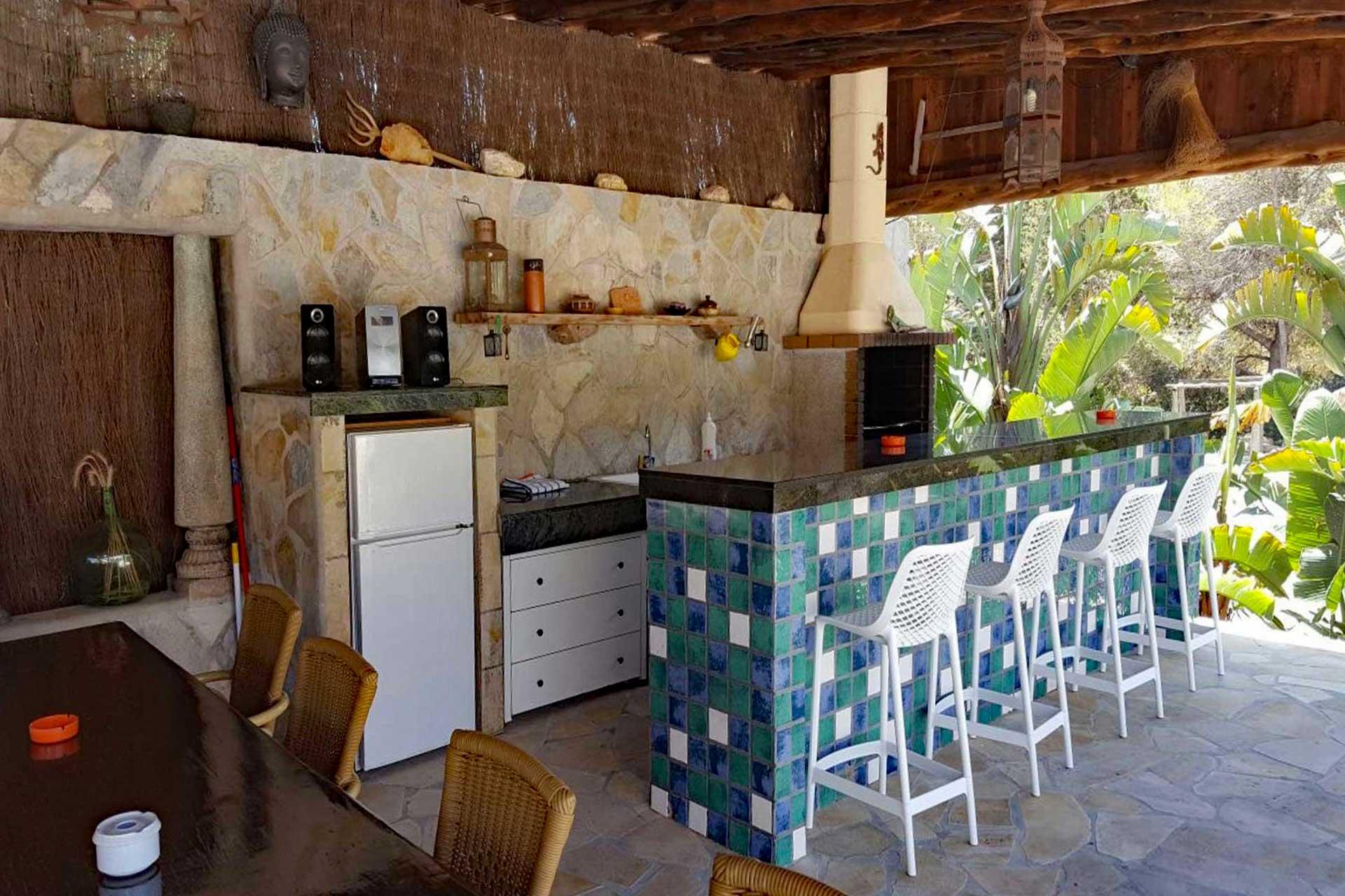Finca Can C. - Outdoor kitchen