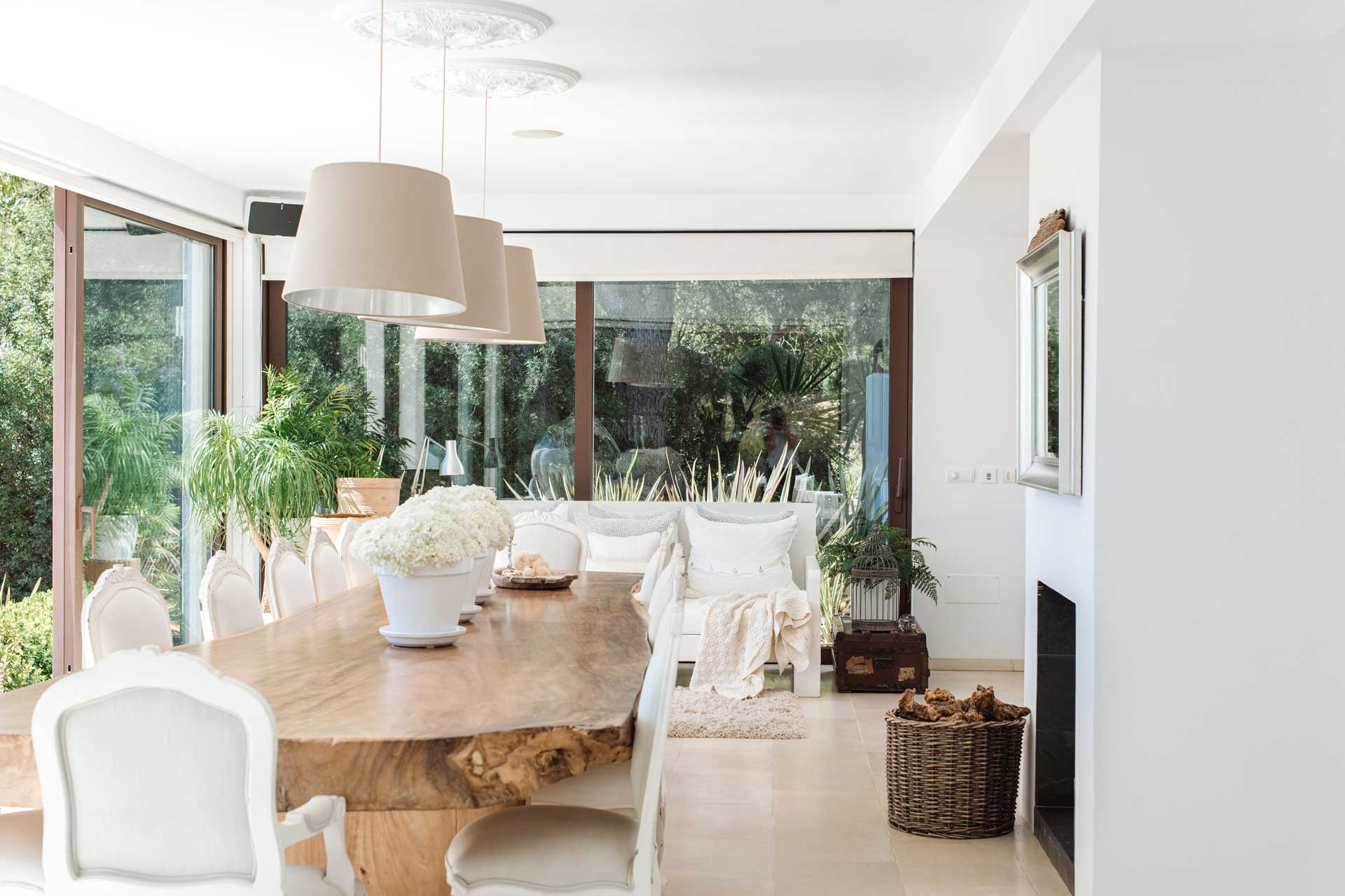 Villa Can Buu Ibiza - Essbereich