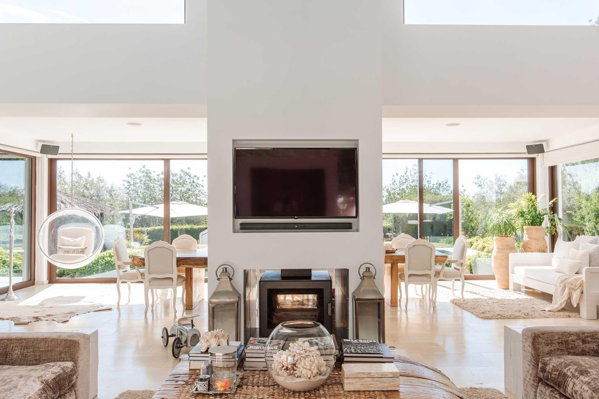Villa Can Buu Ibiza - Living