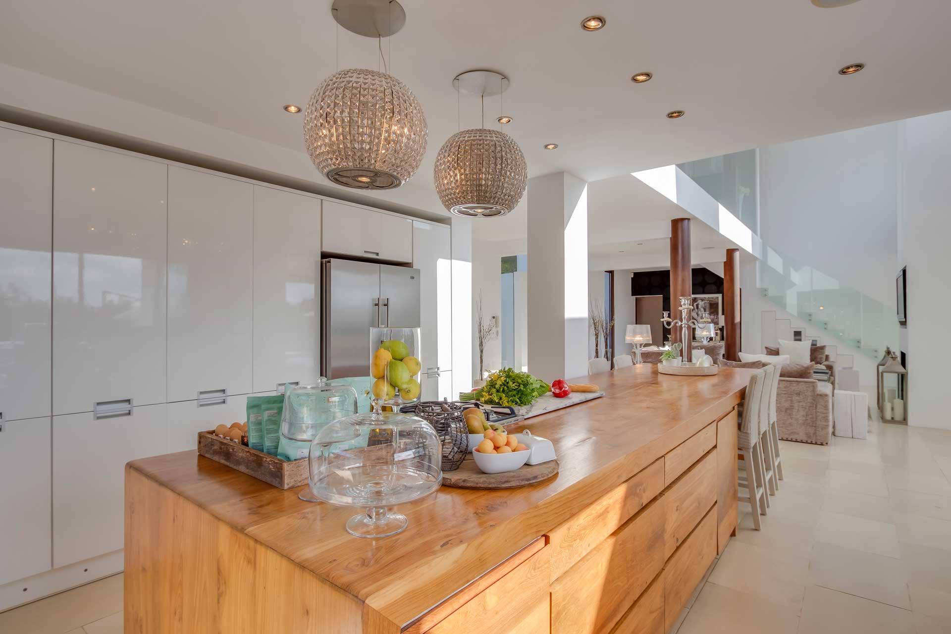 Villa Can Buu Ibiza - Wohnküche
