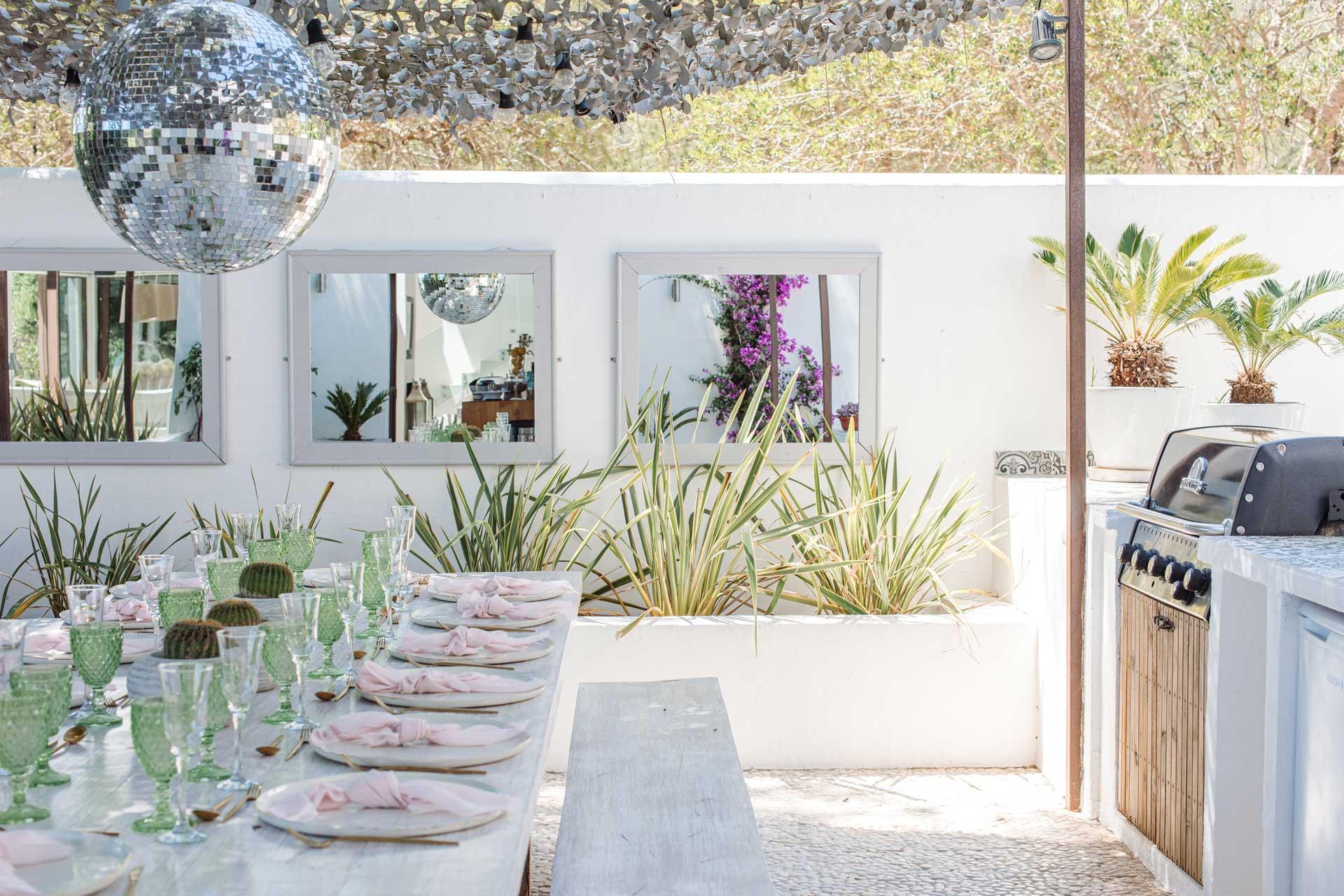 Villa Can Buu Ibiza - Outdoor kitchen