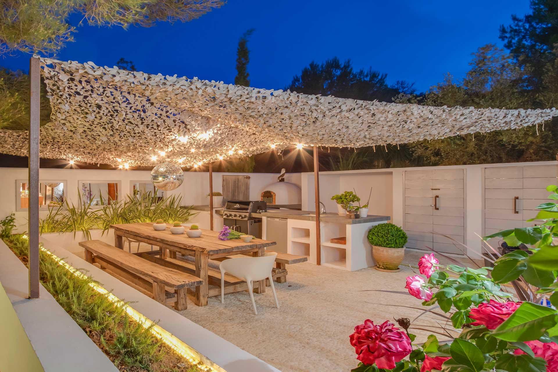 Villa Can Buu Ibiza - Außenküche