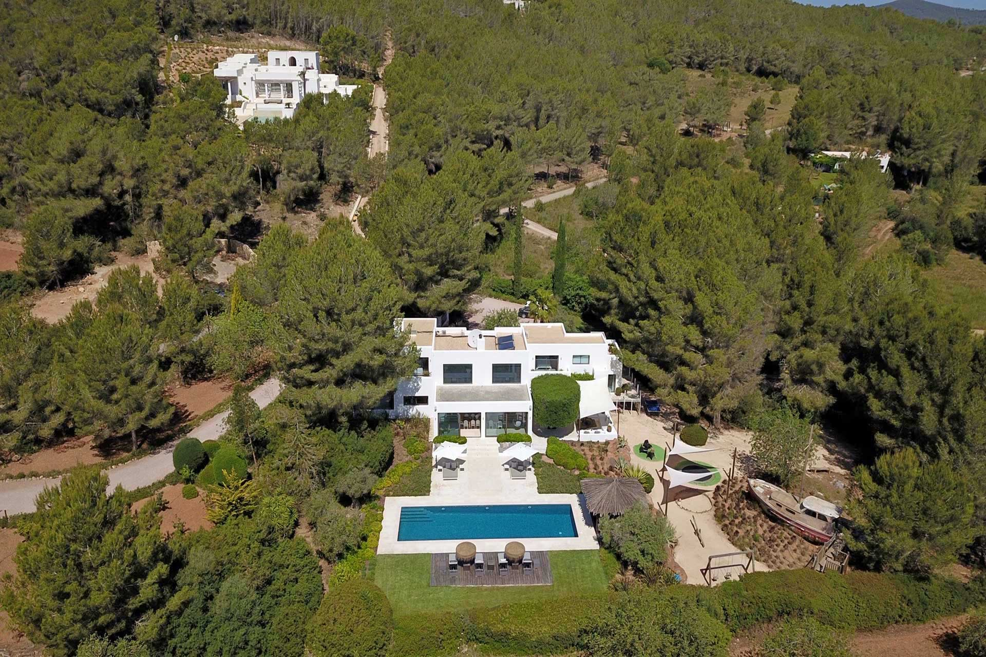 Villa Can Buu Ibiza - Aerial view