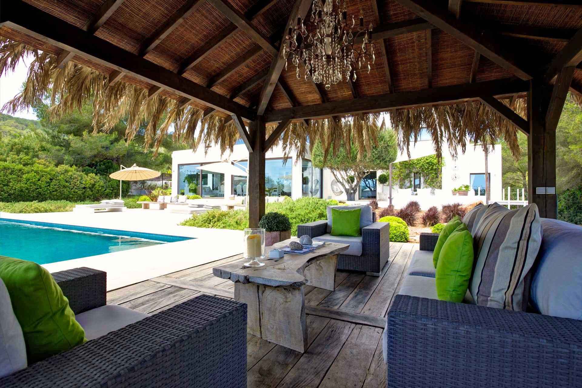 Villa Can Buu Ibiza - Bali-Haus