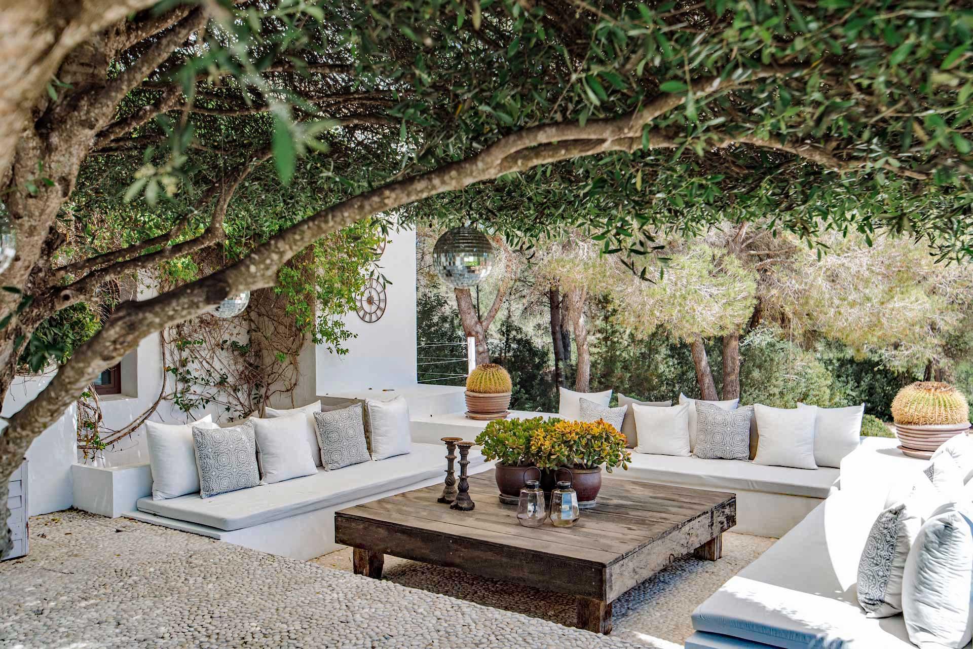 Villa Can Buu Ibiza - Chill-Out-Ecke