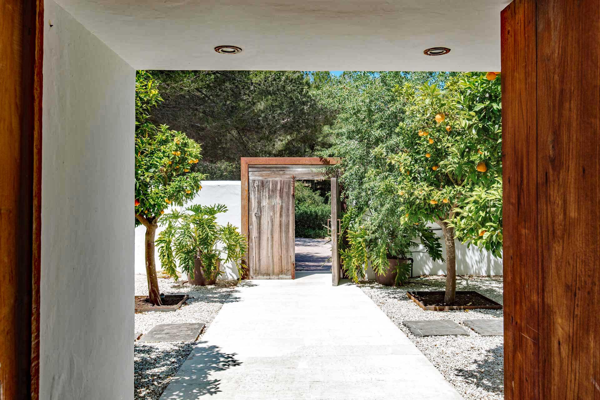 Villa Can Buu Ibiza - EIngangsbereich