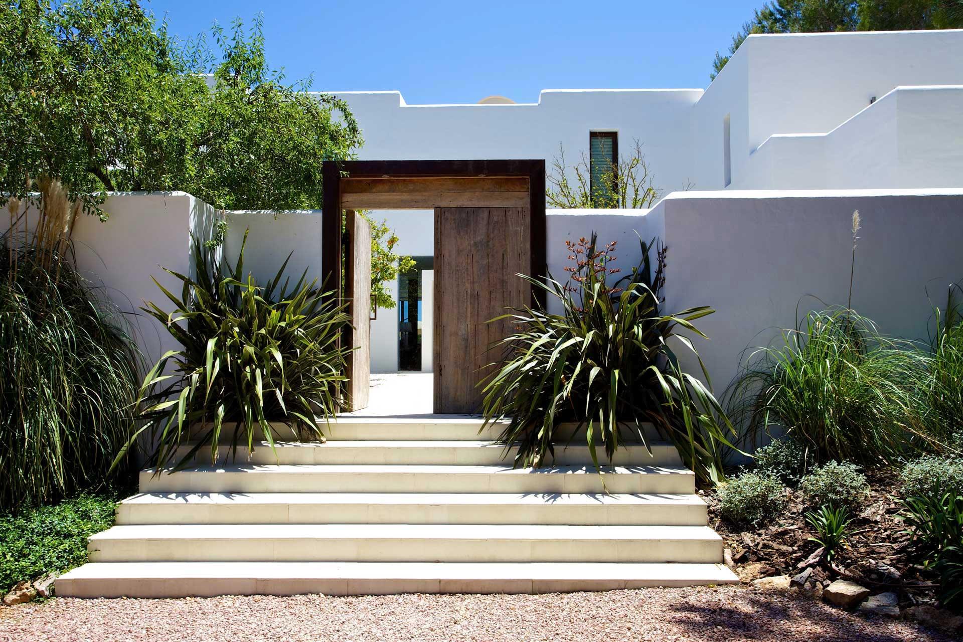 Villa Can Buu Ibiza - Eingang