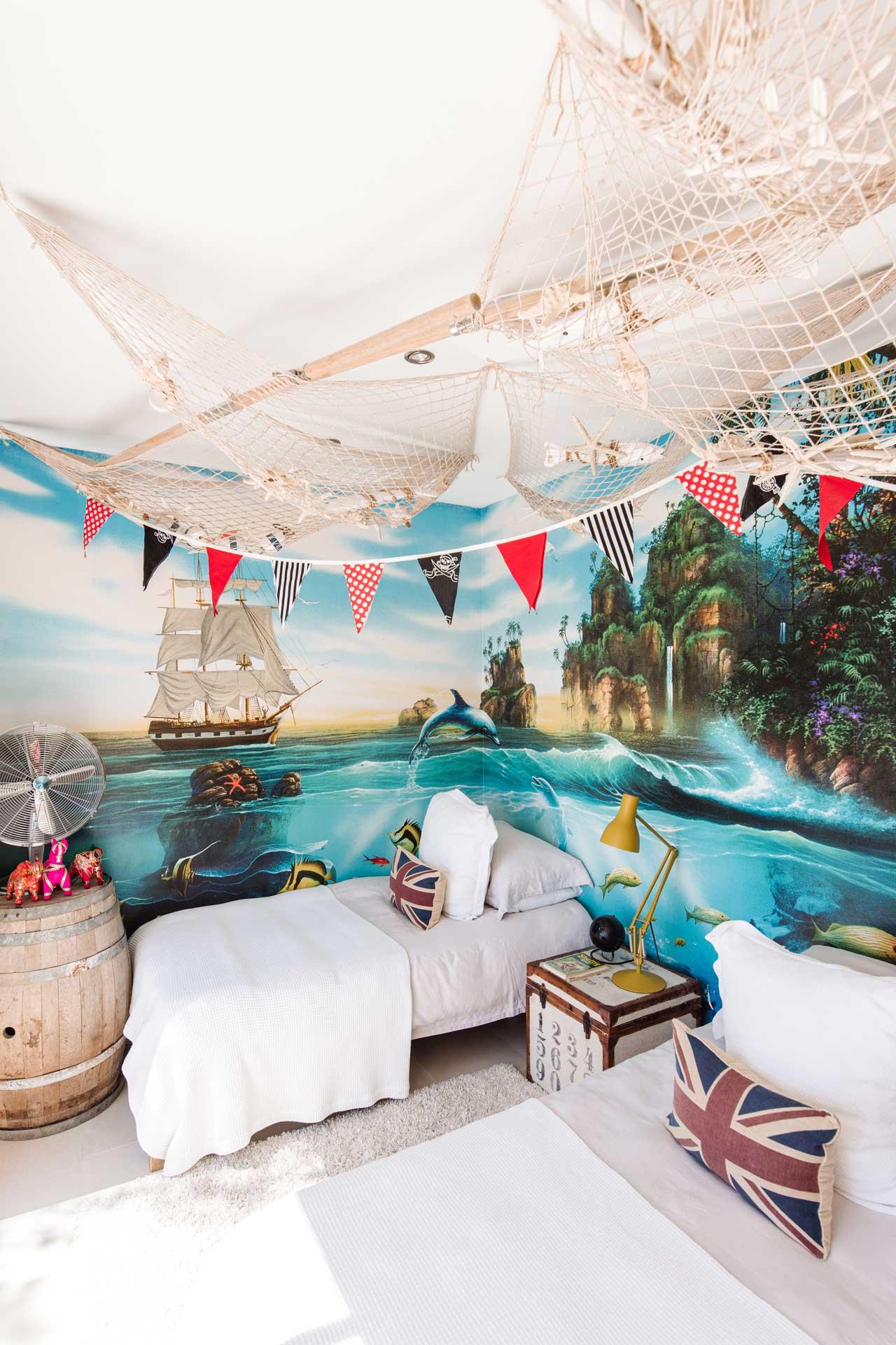 Villa Can Buu Ibiza - Kinderzimmer angrenzend zur Master Suite