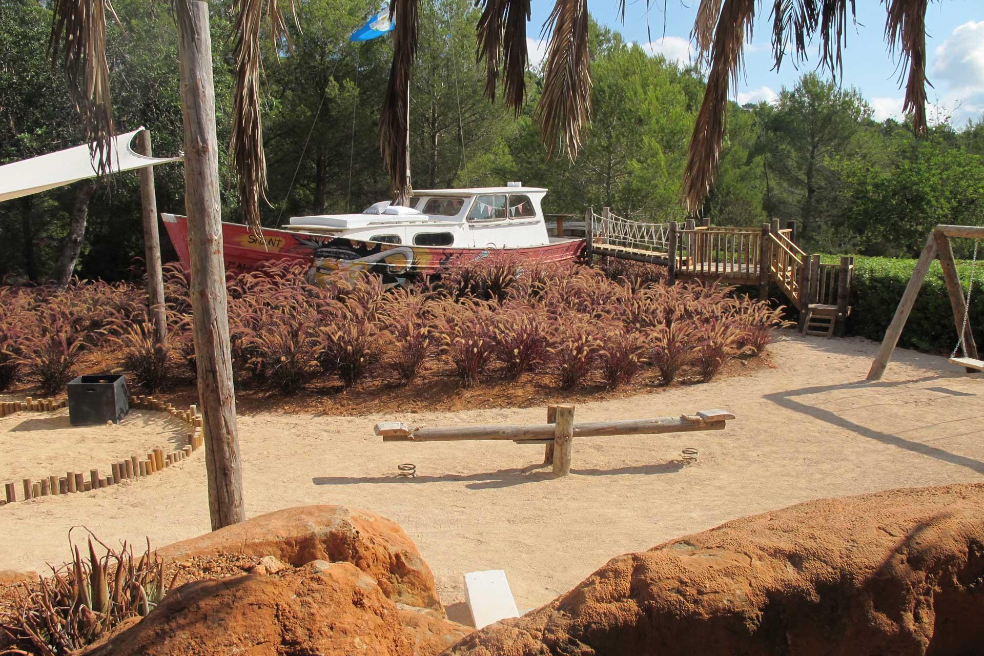 Villa Can Buu Ibiza - Kinderspielplatz