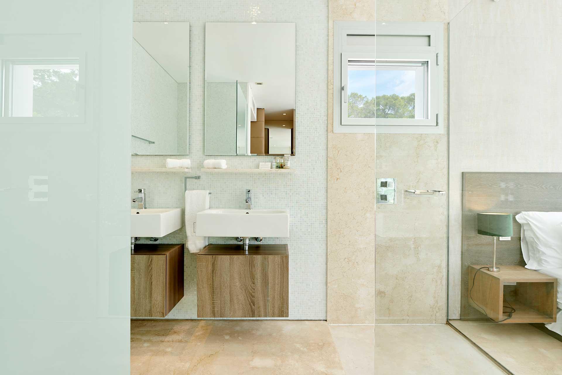 Villa CA Ibiza - Schlafzimmer 4 mit Bad en Suite