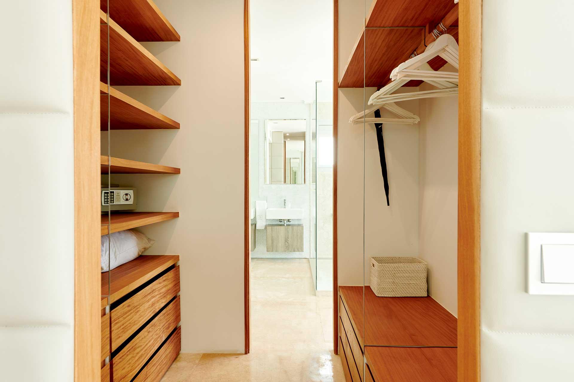 Villa CA Ibiza - Schlafzimmer 5 mit Bad en Suite