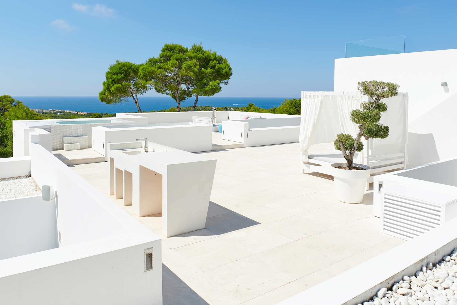 Villa CA Ibiza - Dachterrasse