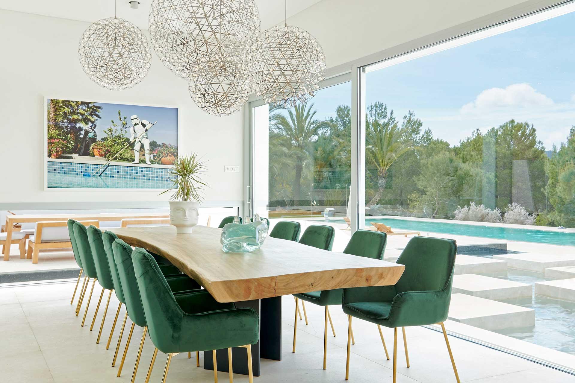Villa CA Ibiza - Essbereich