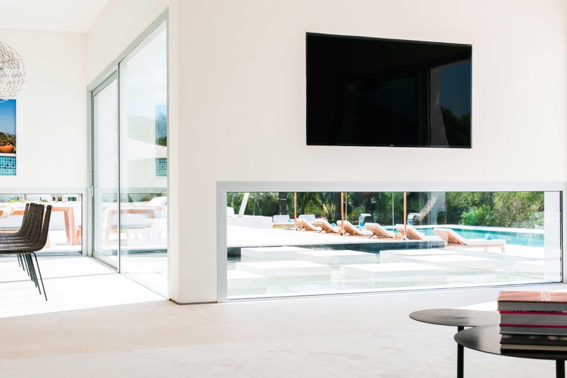 Villa CA Ibiza - Wohnbereich