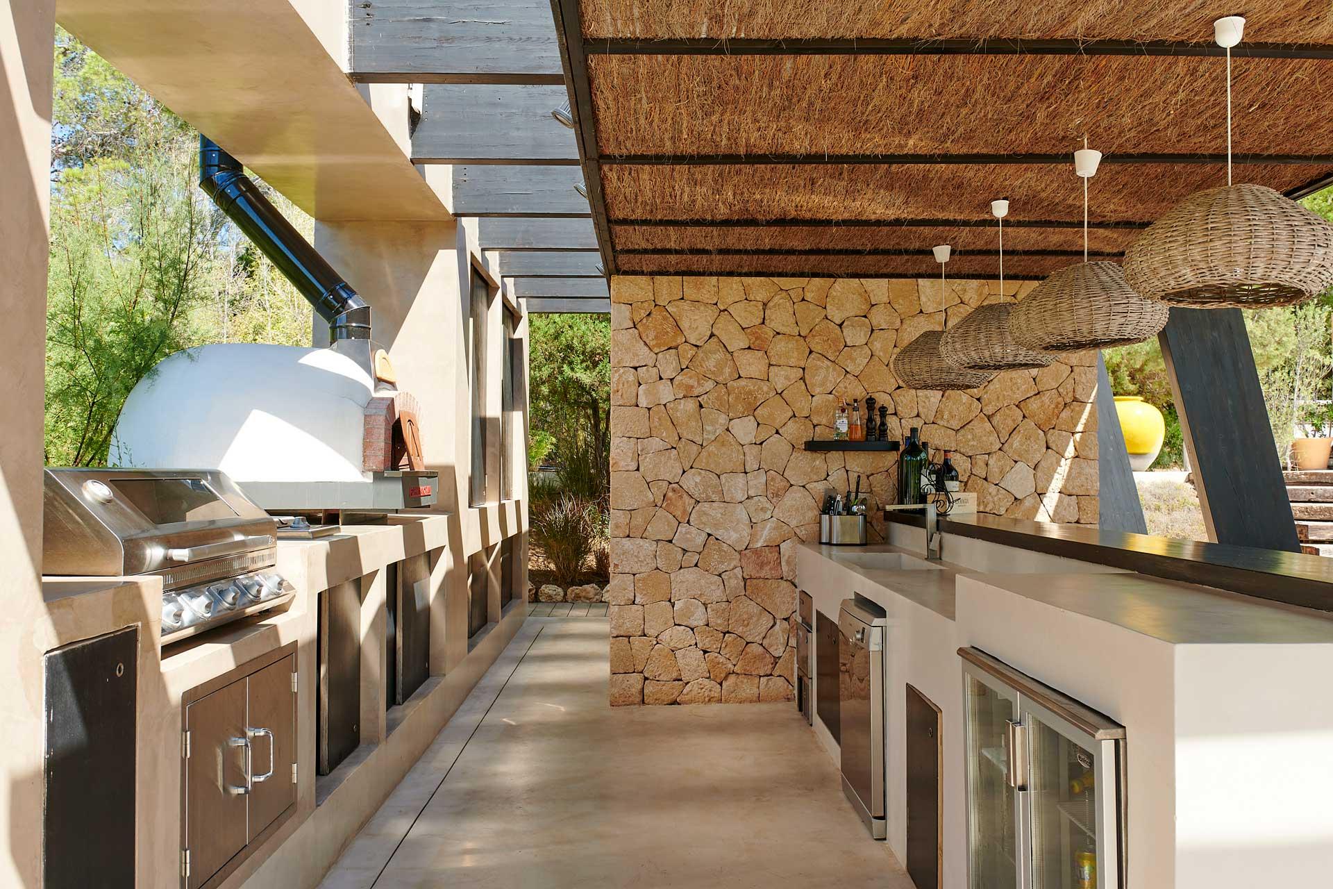 Villa CA Ibiza - BBQ Bereich
