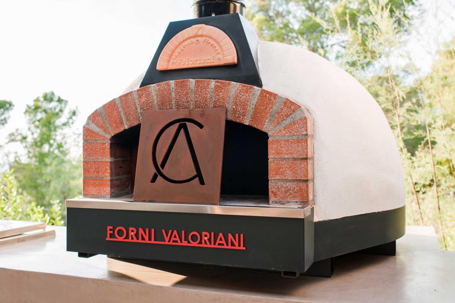 Villa CA Ibiza - BBQ Bereich Pizzaofen