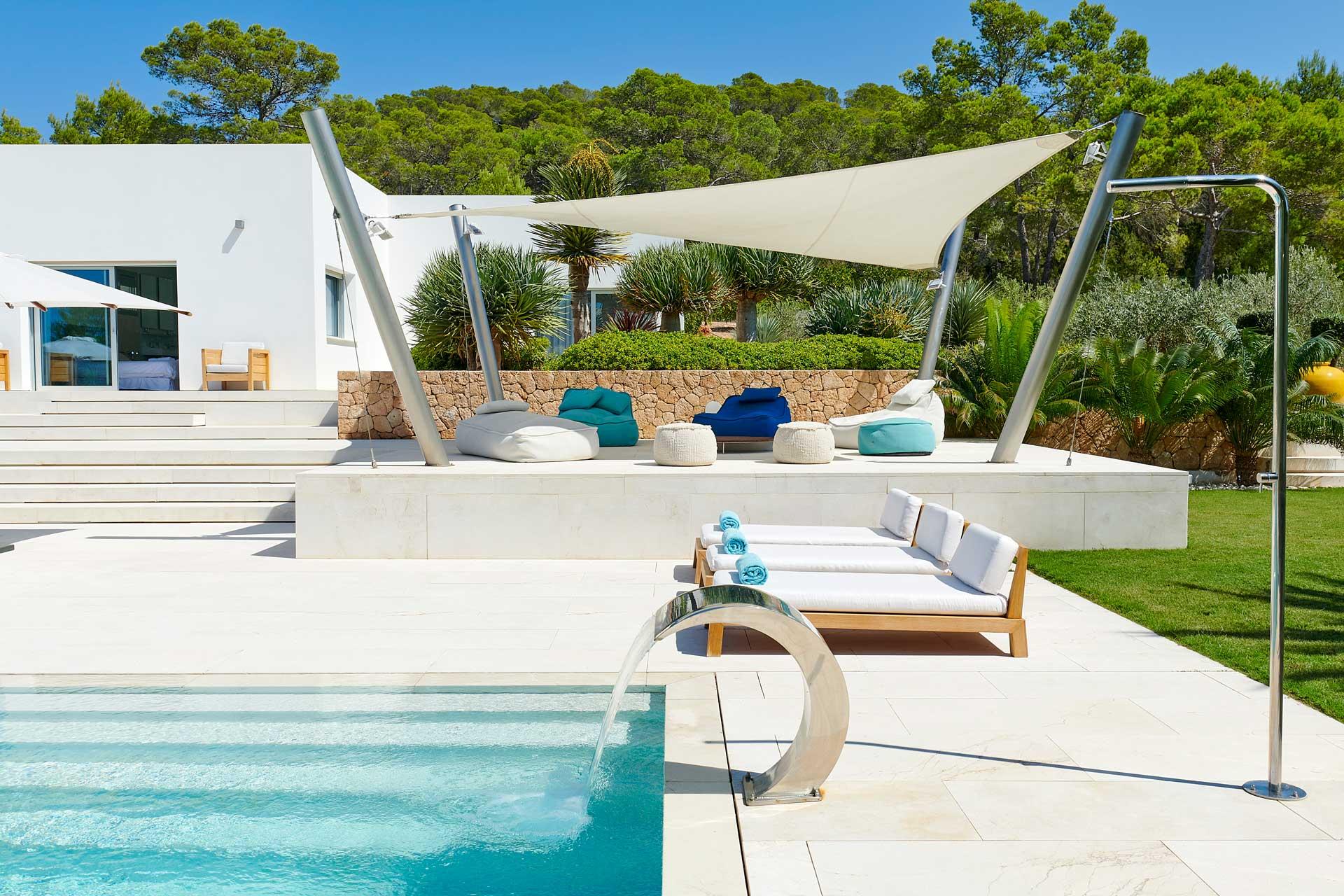 Villa CA Ibiza - Swimmingpool Bereich