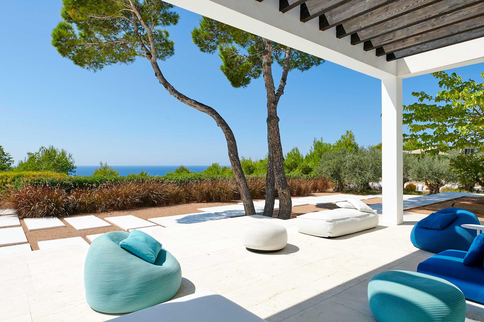 Villa CA Ibiza - Chill-out Ecke