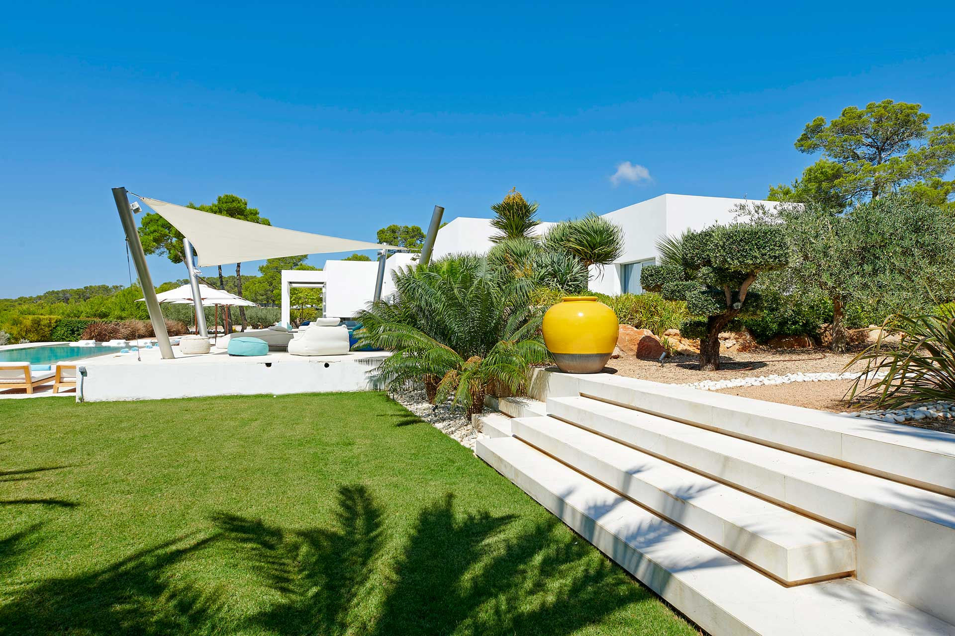 Villa CA Ibiza - Garten