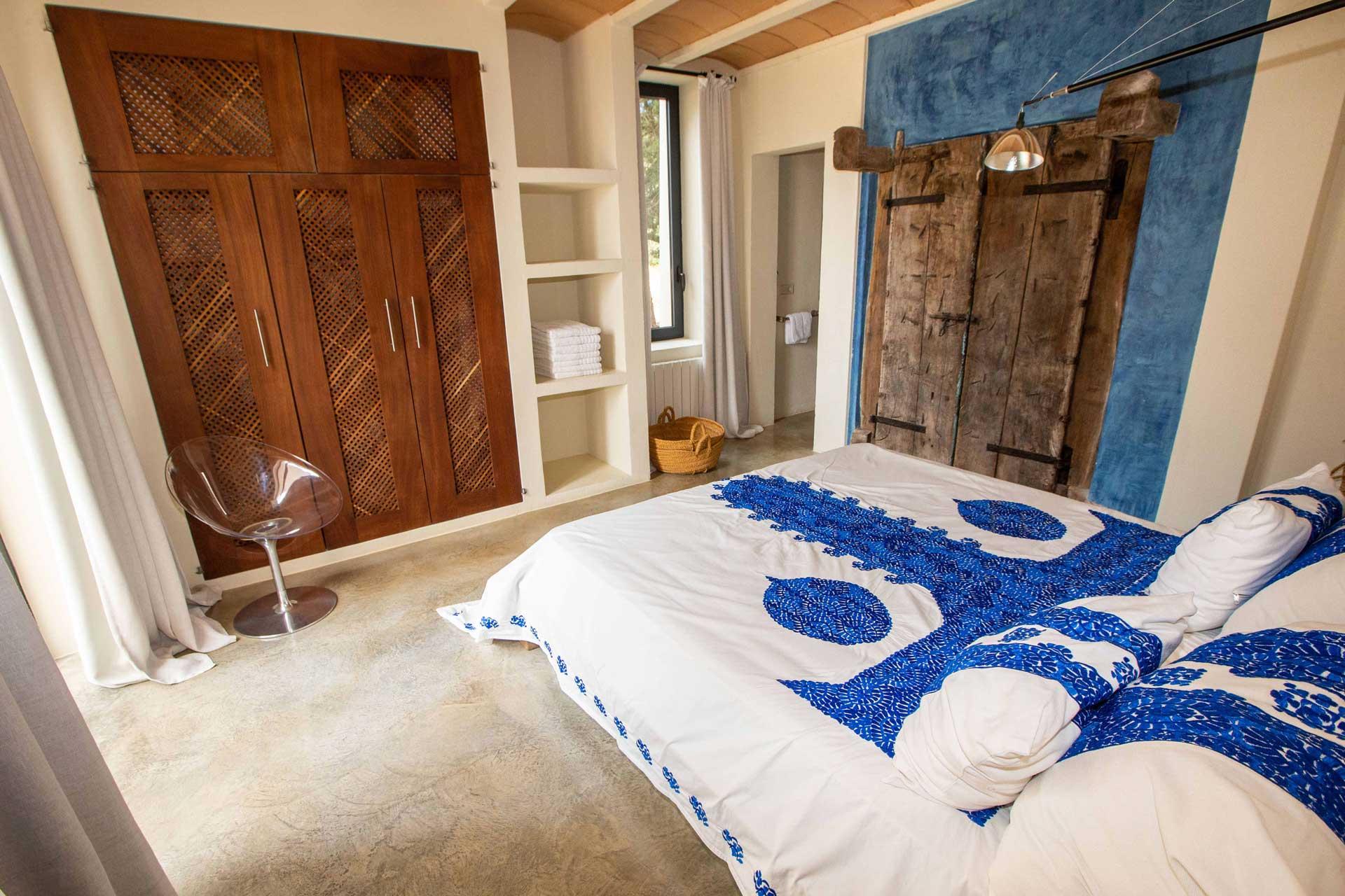 Villa Can Teresita Ibiza - Schlafzimmer EG re.