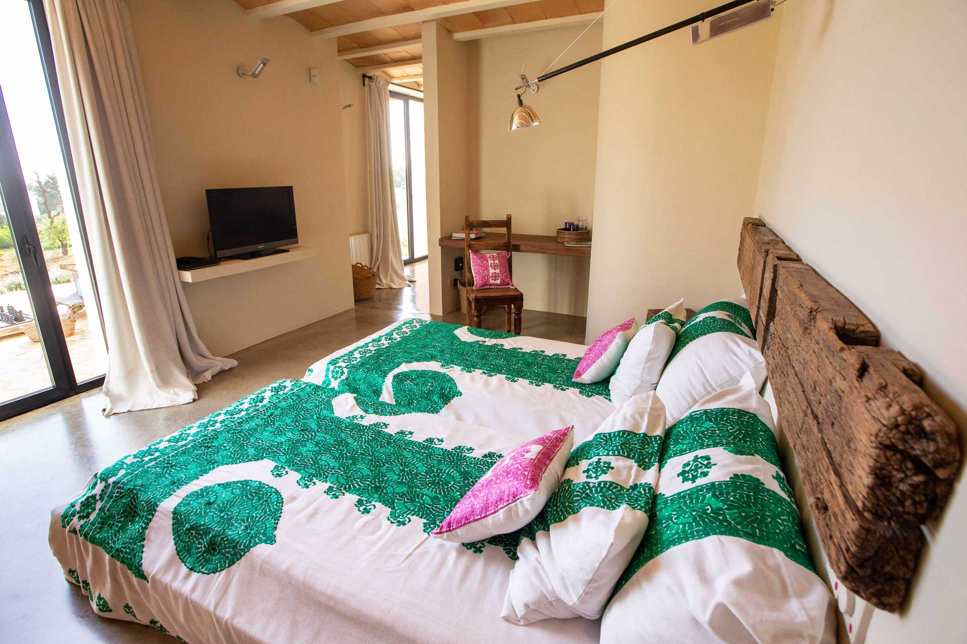 Villa Can Teresita Ibiza - Schlafzimmer EG li.