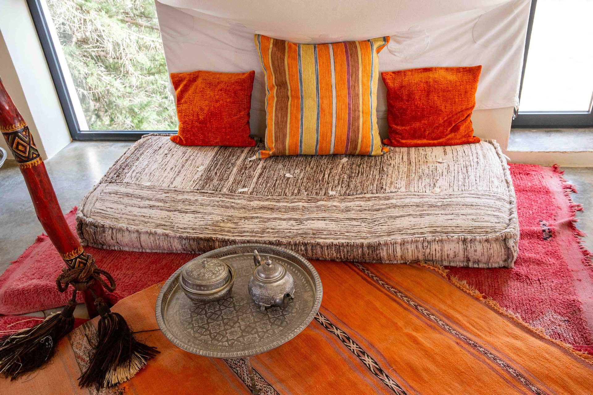 Villa Can Teresita Ibiza - Orientalische Lounge