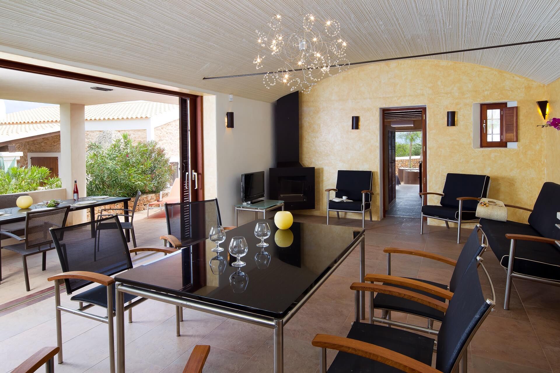 Villa CASES N1 Plus - Living area