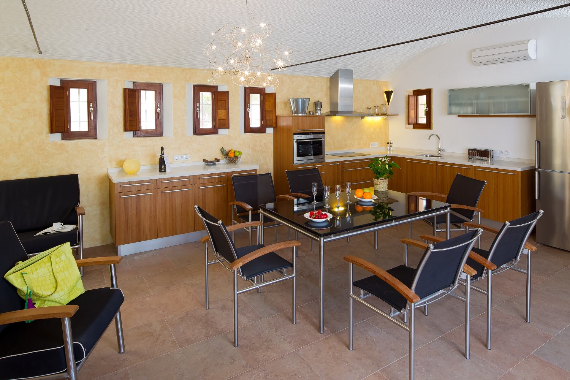 Villa CASES N1 Plus - Kitchen area